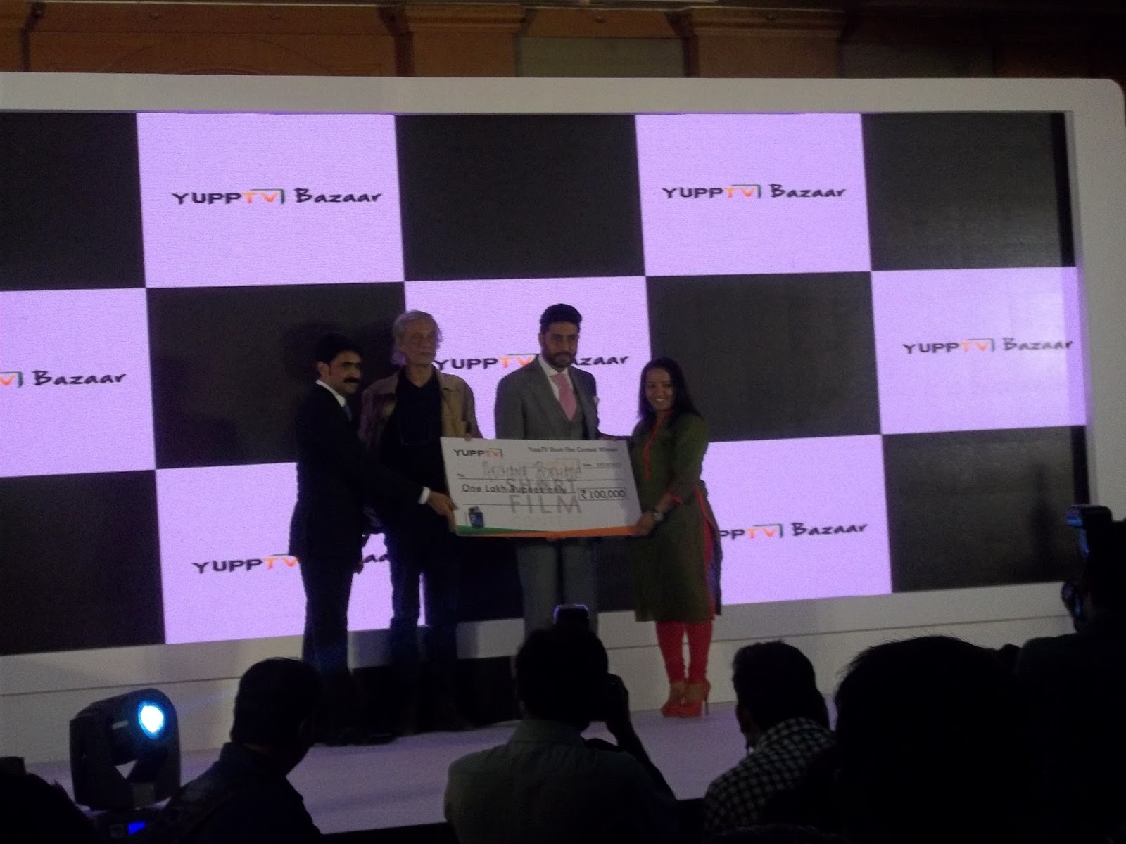 SPIRIT OF MUMBAI: Abhishek Bachchan launches Yupp TV Bazaar
