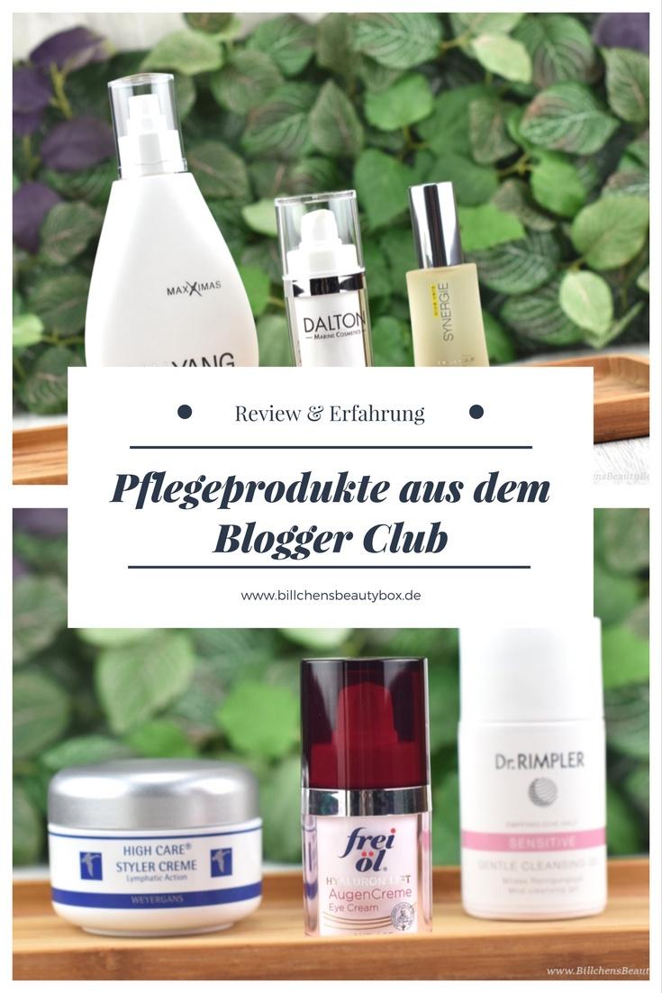 Pflegeprodukte aus dem Blogger Club - Review und Erfahrung
