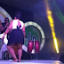 Um, what is Timaya doing with this huge lady on stage, bikonu? (Photos)
