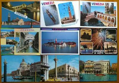 Una cartolina vintage di Venezia