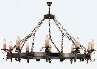 lampara grande para salon y bodega