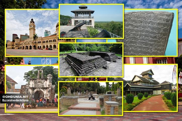Bangunan-Bangunan, Binaan Dan Monumen Bersejarah Di Malaysia