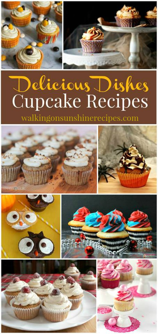 The Best Cupcake Recipes and Delicious Dishes