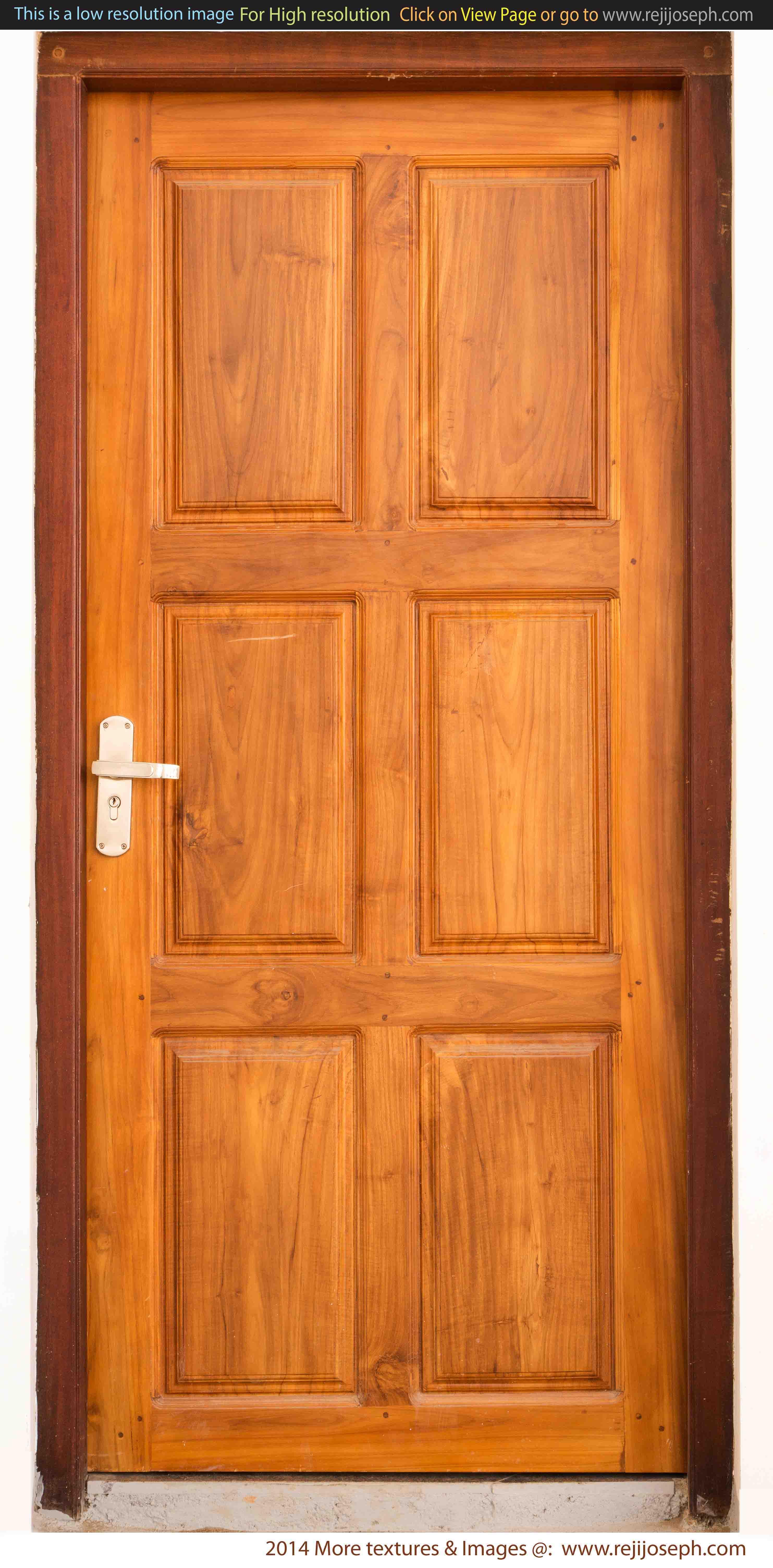 Wooden door texture 00001