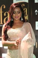 Prajna Actress in backless Cream Choli and transparent saree at IIFA Utsavam Awards 2017 0111.JPG