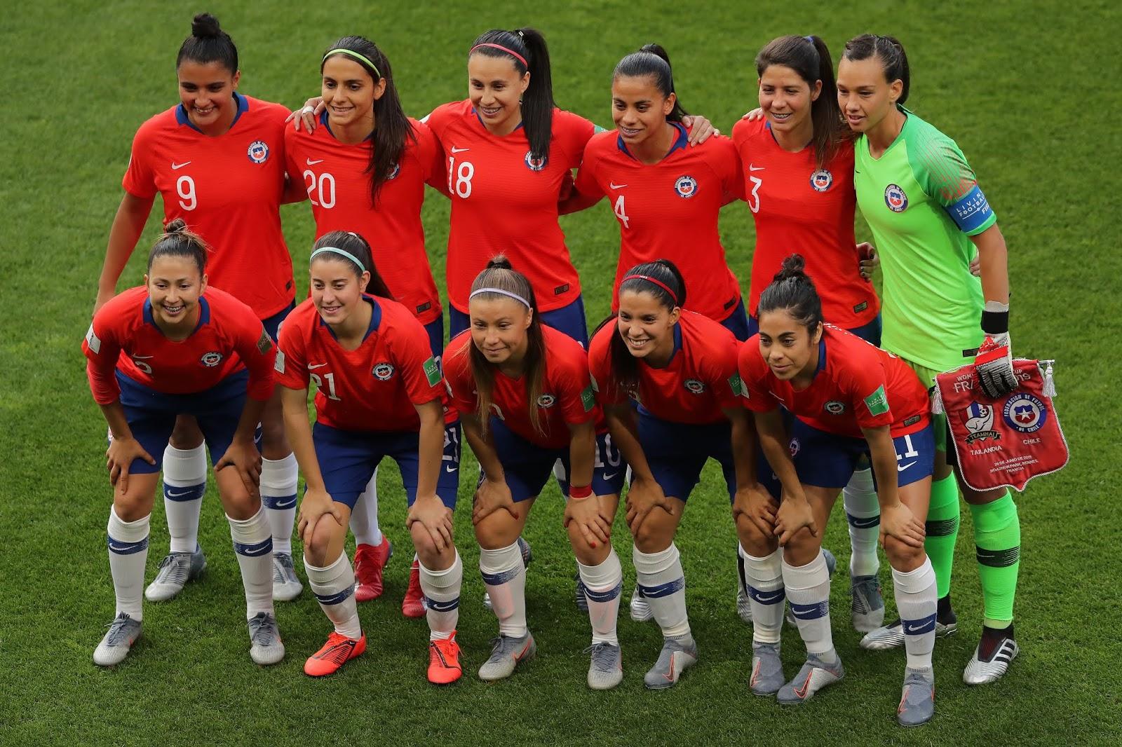 Formación de selección de Chile ante Tailandia, Copa Mundial Femenina de Fútbol Francia 2019, 20 de junio