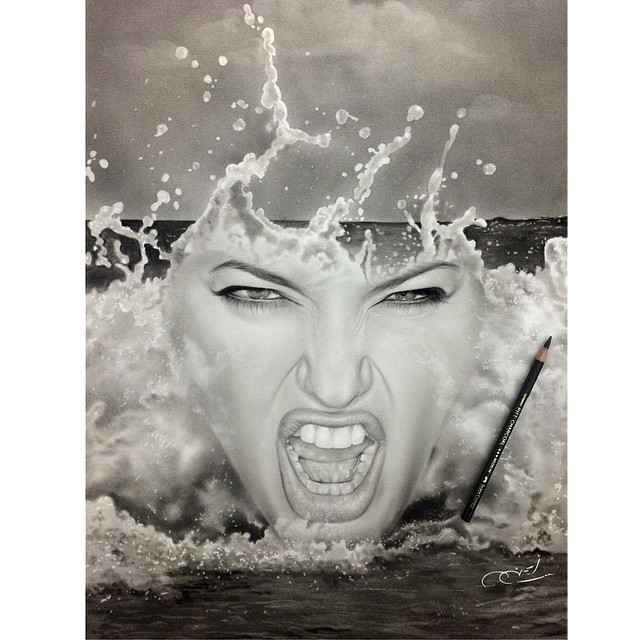 20-The-Wave-aymanarts-Realistic-Drawings-of-Celebrities-and-Other-www-designstack-co