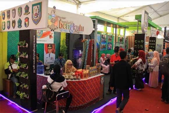 Bengkulu, DetikBengkulu.com, Produk Unggulan Bengkulu, Diminati Pengunjung Penas KTNA
