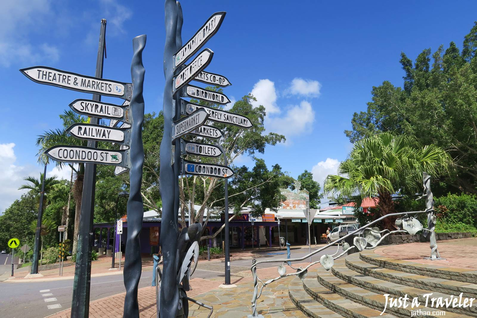 凱恩斯-庫蘭達-景點-市集-自由行-旅遊-澳洲-Cairns-Kuranda-Market-Travel-Tourist-Attraction-Australia