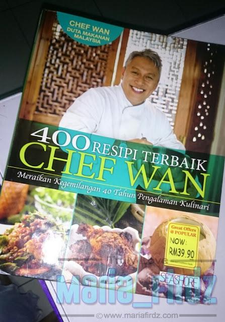 Buku Resepi Chef Wan Pencetus Idea Memasak!