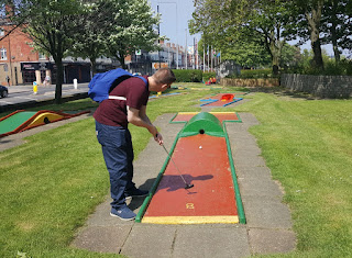 Terry's Traditional Crazy Golf course in Cleethorpes
