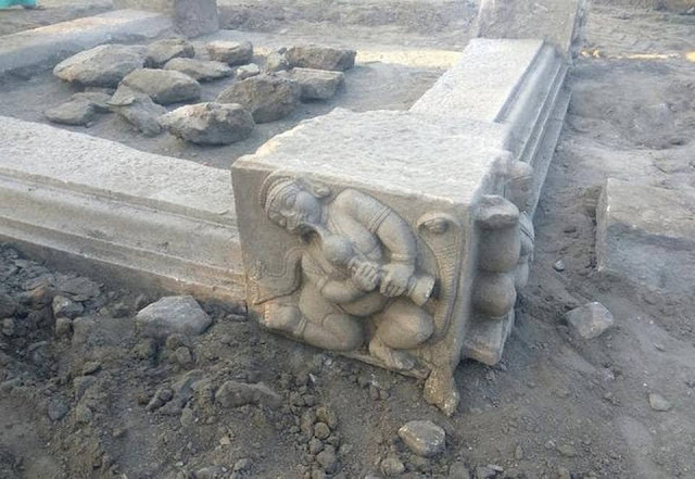 Archaeologically significant structures unearthed in southern India