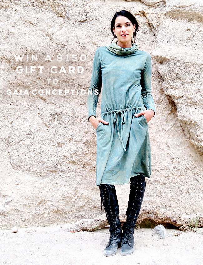 GIVEAWAY: Win a $150 Gift Card to Gaia Conceptions from Bubby and Bean!