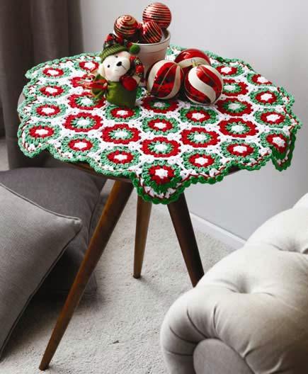 Patrones crochet for Tapete en ingles