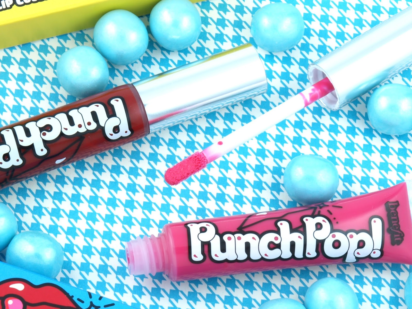 Benefit Punch Pop Liquid Lip Color: Review and Swatches