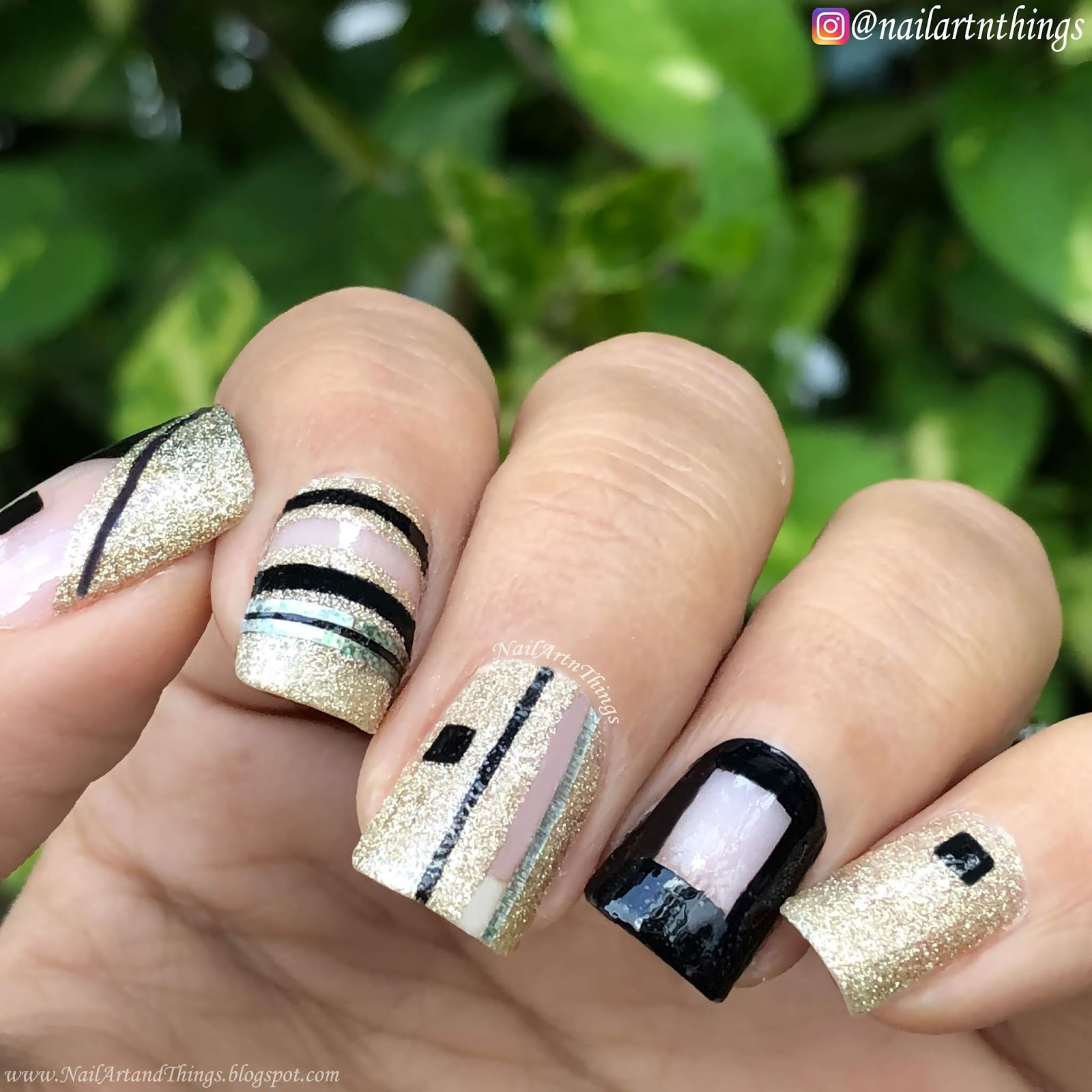 NailArt and Things: Negative Space Nail Art