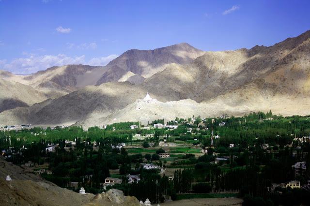 Oasis, Leh, Ladakh, greenery, View, Highest Desert,