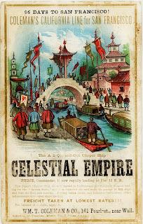 """Viagem do """"Império Celestial"""""""