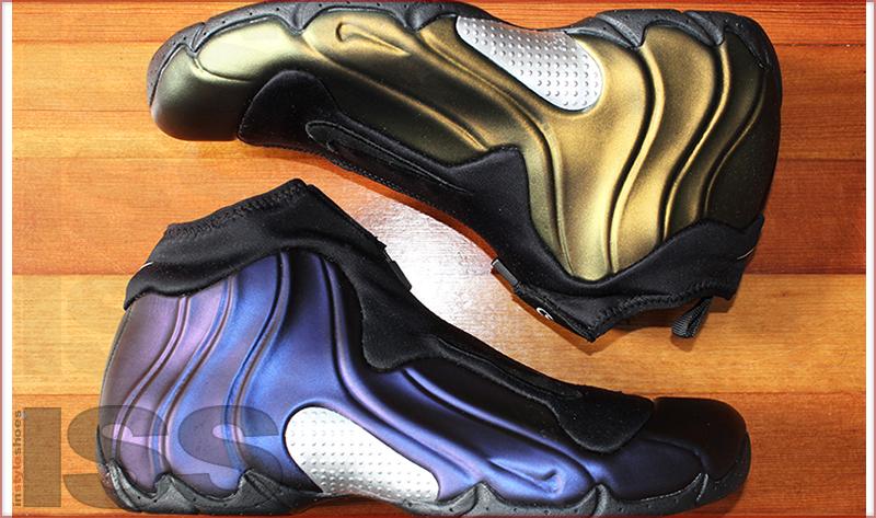 quality design 236d9 bdf0c Nike Air Flightposite   Metallic Gold, Eggplant, Charcoal - Instyleshoes.com
