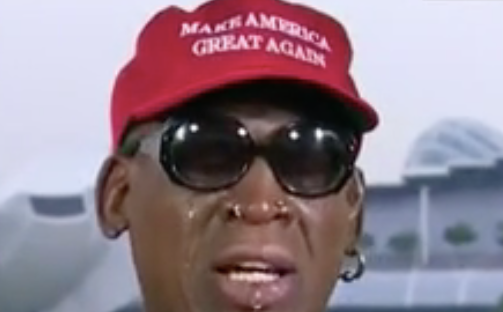 Dennis Rodman Sheds Tears Over North Korean Summit, Says Obama would not give him the time of day