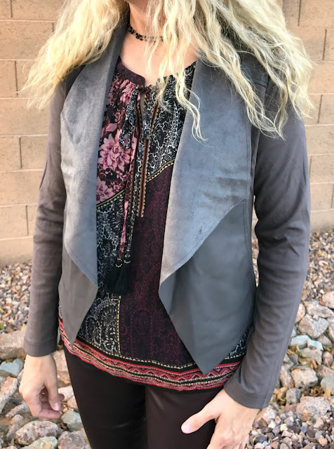 Edyson Maisha Ponte and Faux Leather Jacket - Stitch Fix #28 Review - December 2016