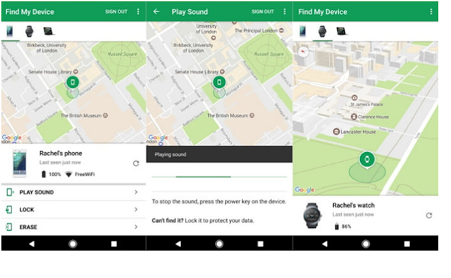 Track an Android Phone without them knowing for Free via Find My Device.