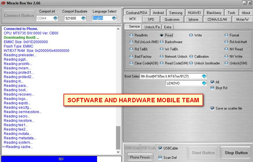 الفلاشة الكاملة المسحوبه من هاتف Lenovo K10a40 firmware