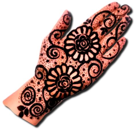 Eid Mehndi Designs For Front Hand