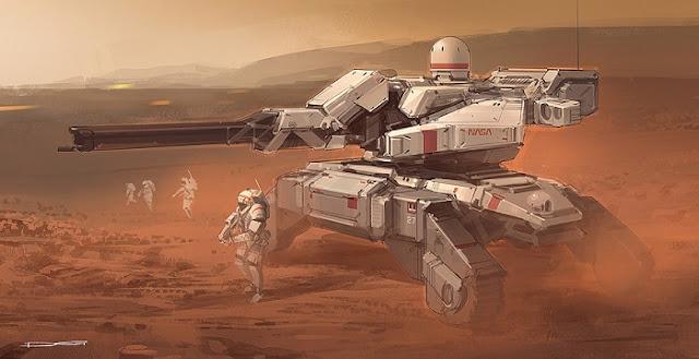 Populasi planet Mars