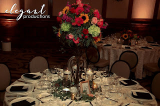 Ritz-Carlton Bachelor Gulch, Wedding Reception Centerpiece
