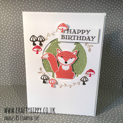 Foxy Friends card, Stampin' Up!