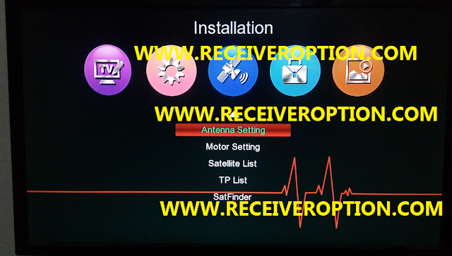 GX 6605S 5815 V4.1 POWERVU KEY NEW SOFTWARE WITH RED MENU