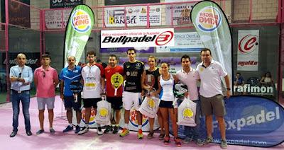 Campeones de Pádel de Extremadura 2016