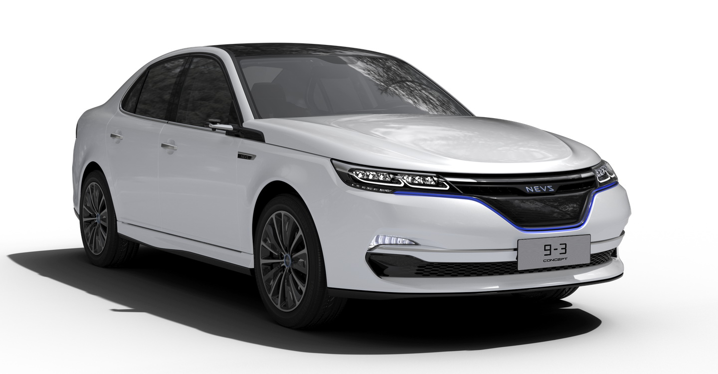 Saab Returns Through NEVS' New Electric 9-3 Concept | Carscoops