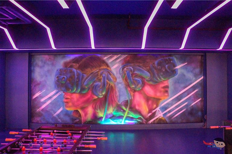 VR Zone in The Garage, City of Dreams
