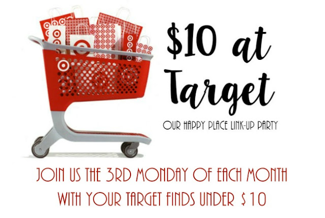 $10 at Target: Summer Fun Edition  |  Join us for our monthly link up party on the third Monday of each month to see what we got for $10 at Target!