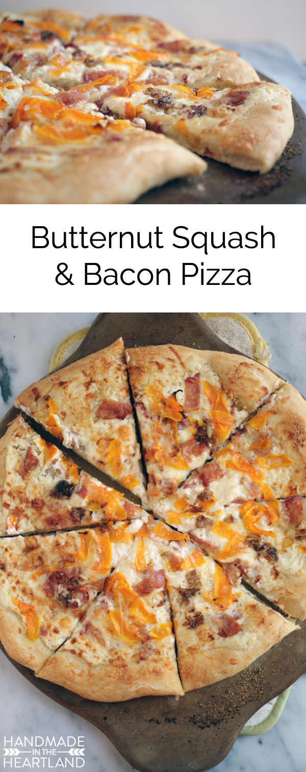 Butternut Squash, Bacon & Brown Butter Pizza