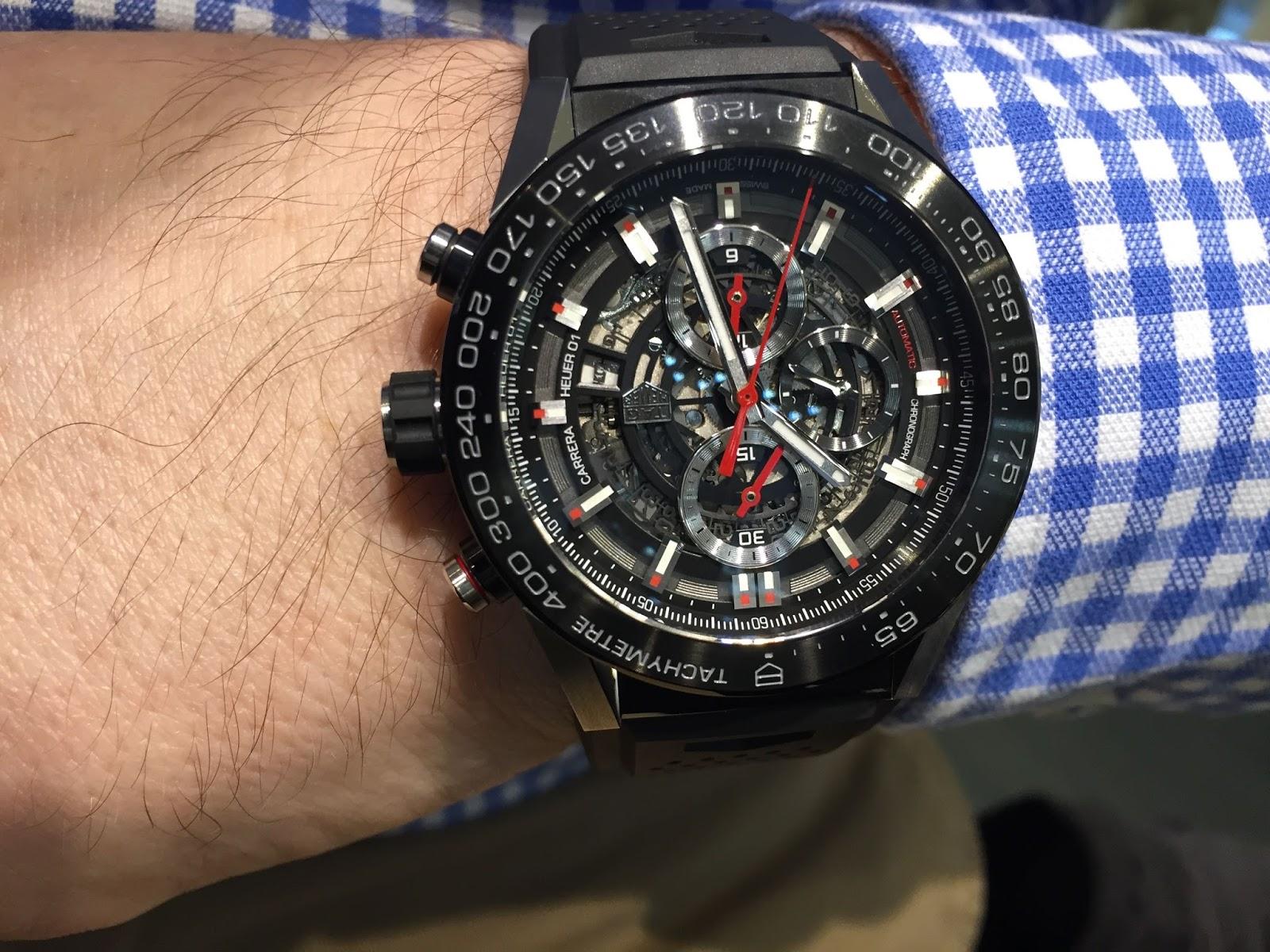 Sportswatchblogger - Sportuhren Blog : TAG Heuer Carrera Chronograph ...