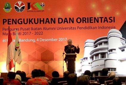 Pengukuhan Pengurus Pusat IKA UPI Bandung
