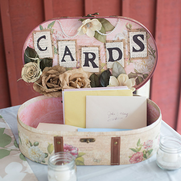 Hat Box Card Holder