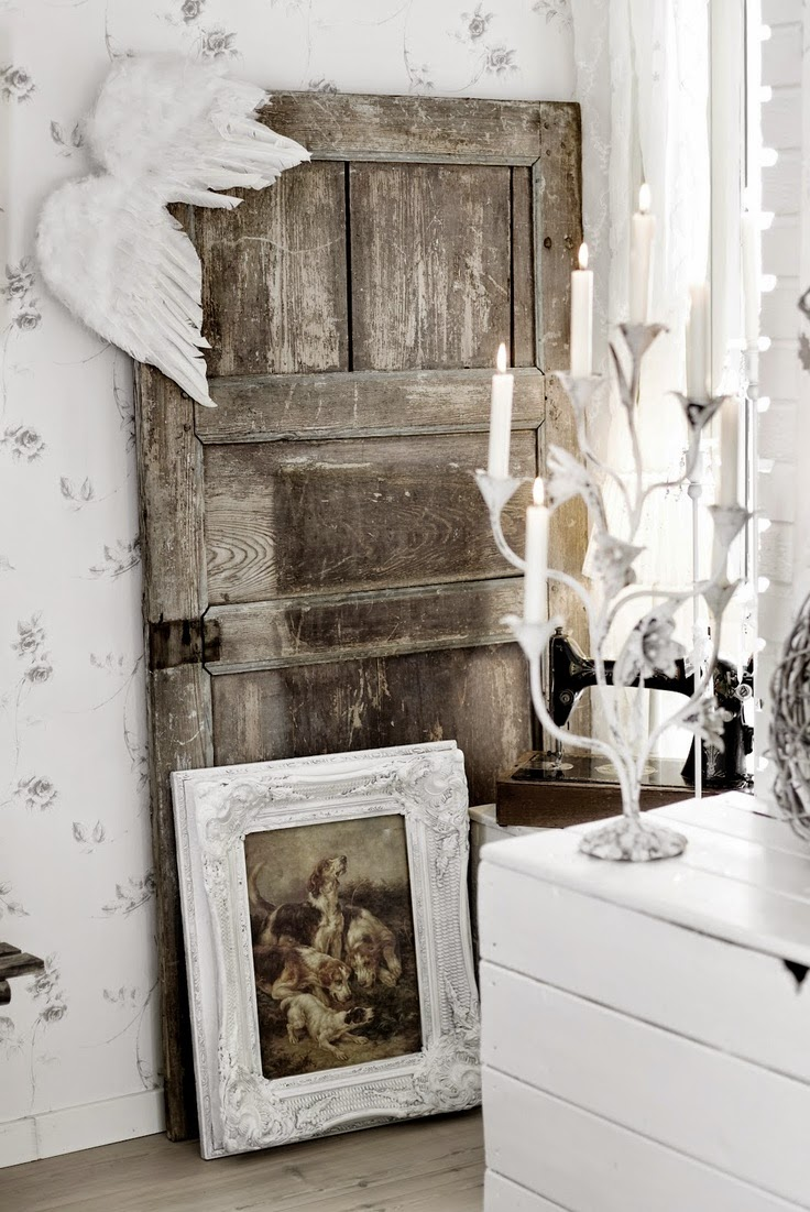 Decorating With Antique Doors : Little brags decorating with old doors