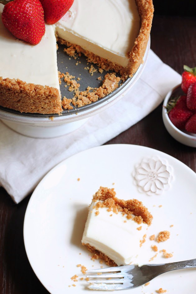 No-Bake Cheesecake | Savor Home