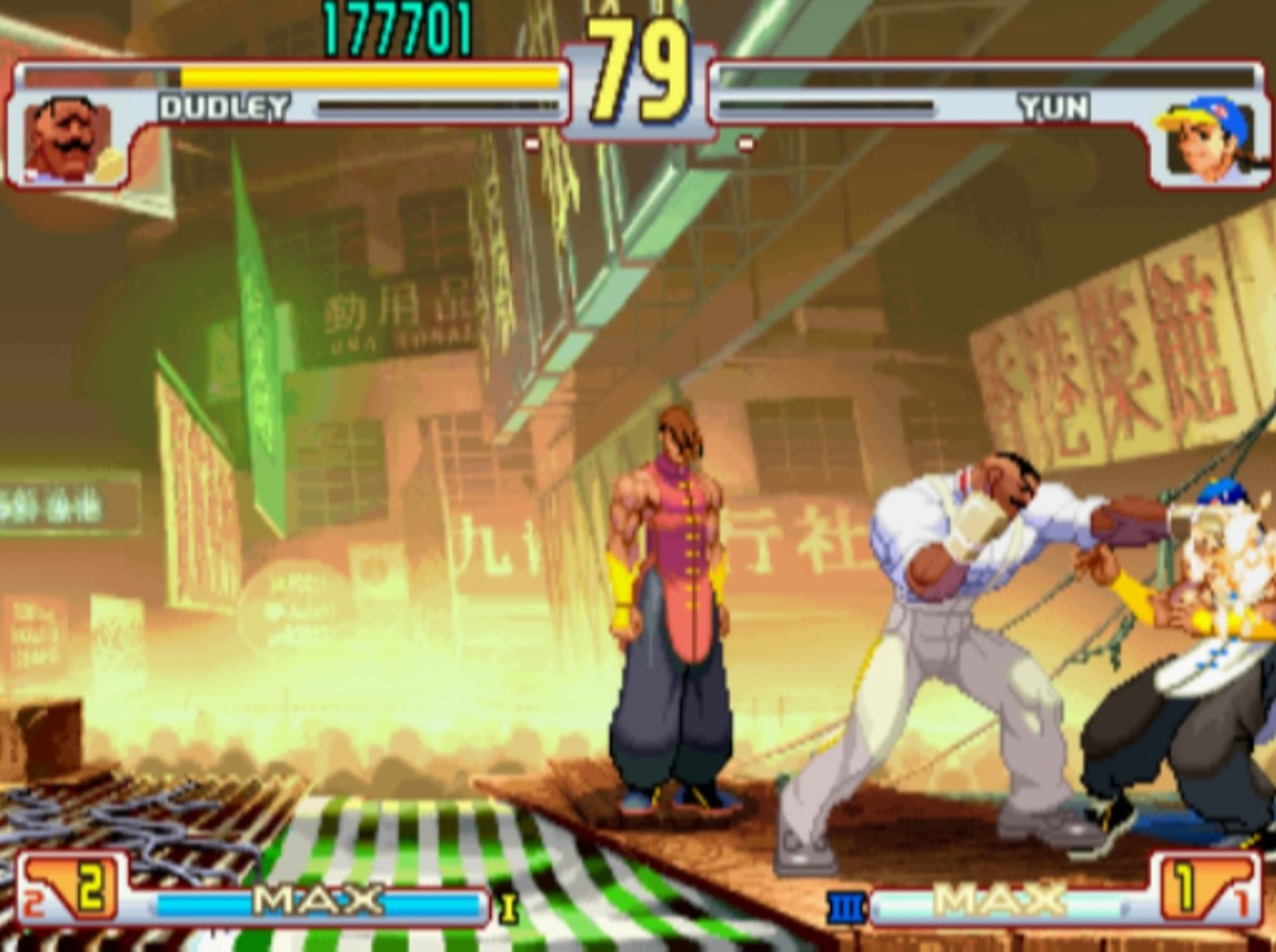 Corona Jumper: Street Fighter III (Sega Dreamcast, 1999)