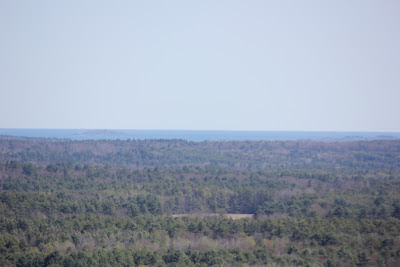 casco bay from bradbury mountain