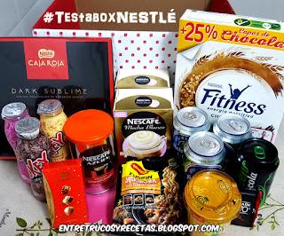 Testabox especial Nestlé (Abril 2018)