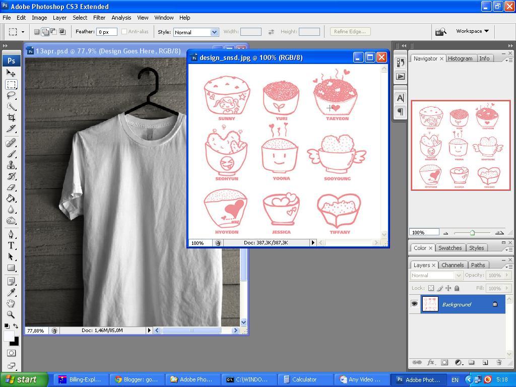 58cf3a754 go!Blog: Cara Membuat Design T - Shirt Mudah