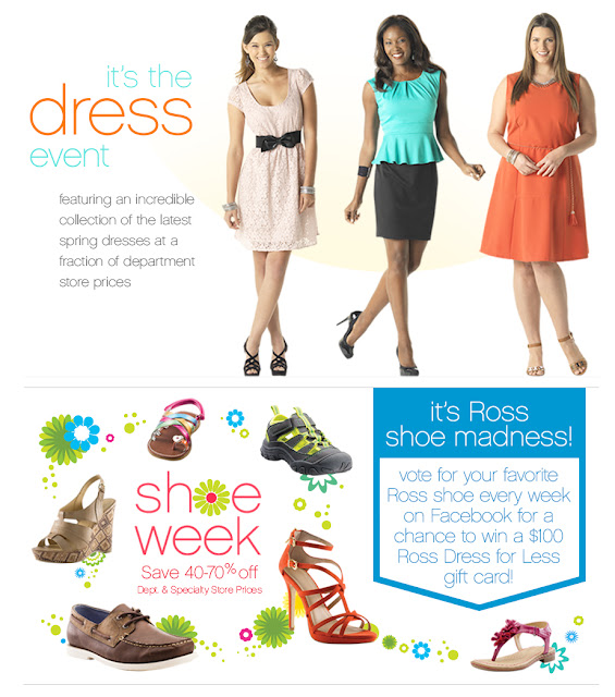 Sugar Pop Ribbons Reviews And Giveaways: Ross Dress For