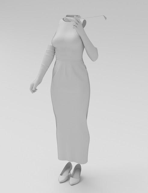 dForce Breakfast Date Outfit for Genesis 8 Female