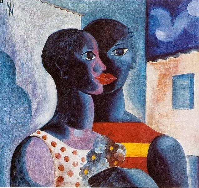 """Namorados - Ismael Nery e suas pinturas ~ O """"Pintor Maldito"""""""