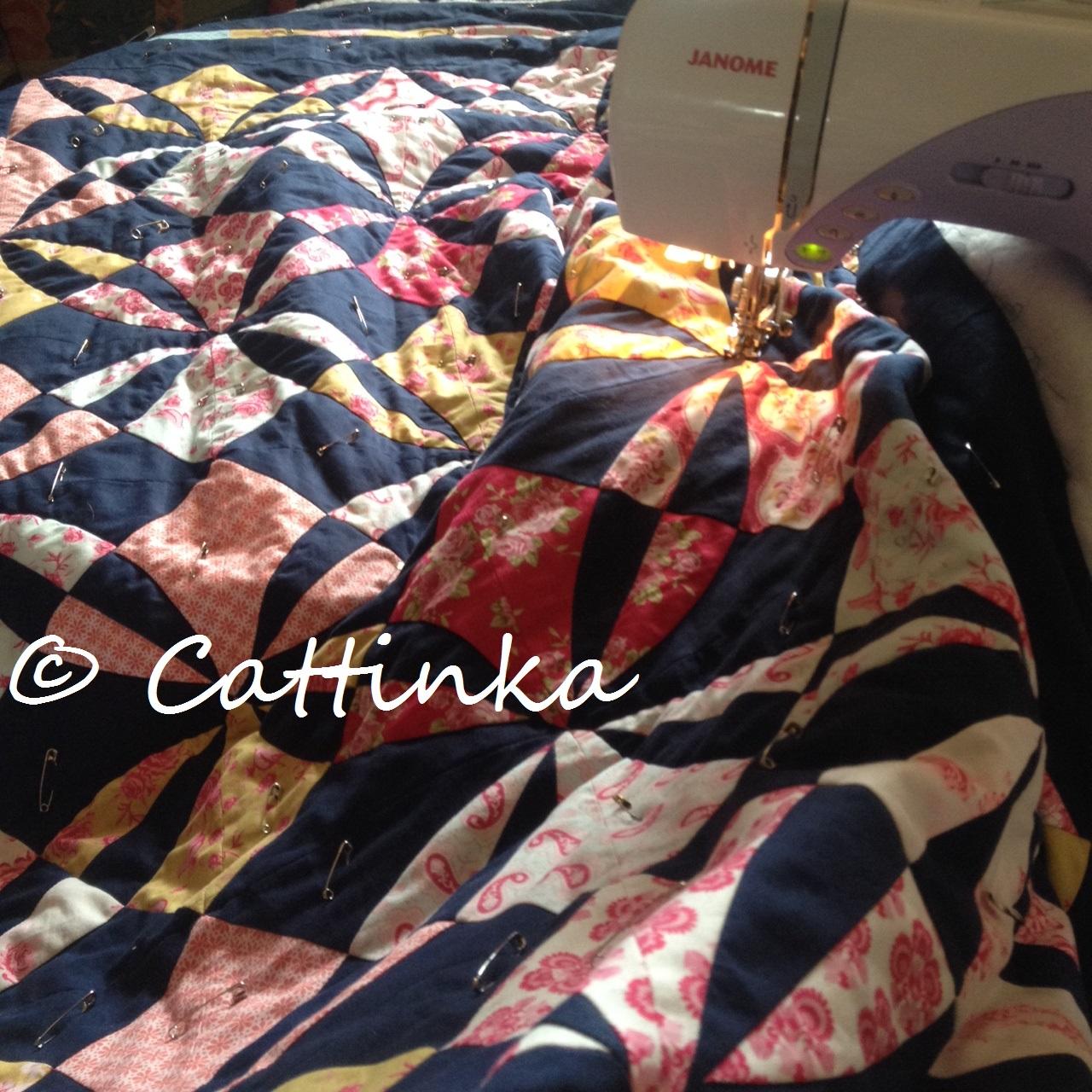 cattinka wip  work in progress ~ Nähmaschine Qvc